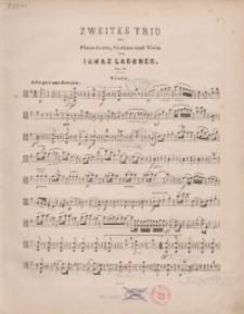 Zweites Trio für Pianoforte, Violine und Viola. Op. 45 : a, b
