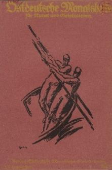 Ostdeutsche Monatshefte Nr. 7, Oktober 1921, 2 Jahrgang