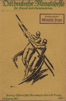 Ostdeutsche Monatshefte Nr. 9, Dezember 1921, 2 Jahrgang