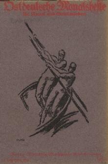 Ostdeutsche Monatshefte Nr. 10, Januar 1922, 2 Jahrgang