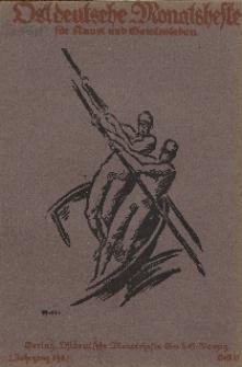 Ostdeutsche Monatshefte Nr. 11, Februar 1922, 2 Jahrgang