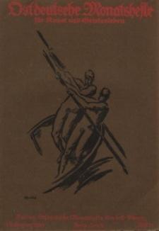 Ostdeutsche Monatshefte Nr. 11, Februar 1921, 1 Jahrgang