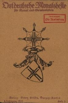 Ostdeutsche Monatshefte Nr. 3, Juni 1922, 3 Jahrgang