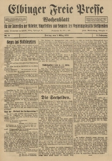 Freie Presse, Nr. 9 Freitag 5. März 1926 2. Jahrgang