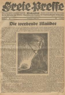 Freie Presse, Nr. 17 Freitag 30. April 1926 2. Jahrgang