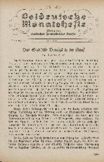 Ostdeutsche Monatshefte Nr. 4, Juli 1930, 11 Jahrgang