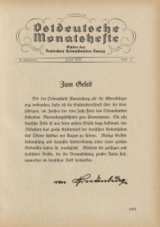 Ostdeutsche Monatshefte Nr. 3, Juni 1931, 12 Jahrgang
