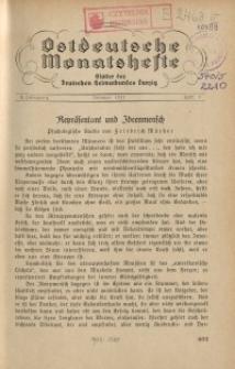 Ostdeutsche Monatshefte Nr. 7, Oktober 1931, 12 Jahrgang