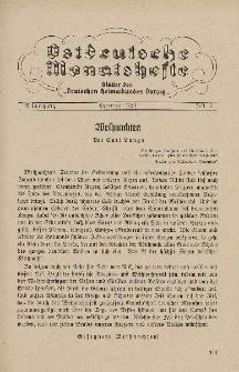 Ostdeutsche Monatshefte Nr. 10, Januar 1935, 15 Jahrgang