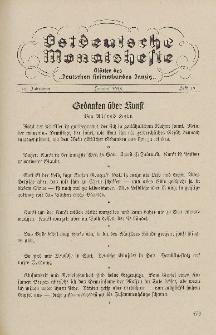 Ostdeutsche Monatshefte Nr. 11, Februar 1935, 15 Jahrgang
