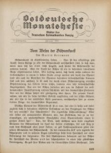 Ostdeutsche Monatshefte Nr. 10, Januar 1931, 11 Jahrgang