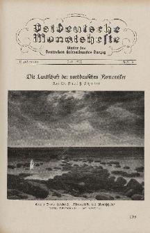 Ostdeutsche Monatshefte Nr. 4, Juli 1932, 13 Jahrgang