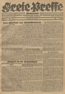 Freie Presse, Nr. 30 Freitag 30. Juli 1926 2. Jahrgang