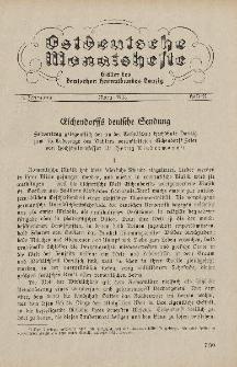 Ostdeutsche Monatshefte Nr. 12, März 1933, 13 Jahrgang