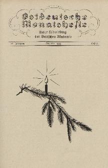 Ostdeutsche Monatshefte Nr. 9, Dezember 1935, 16 Jahrgang