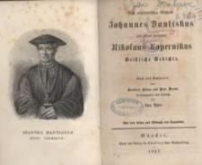 Des ermländischen Bischofs Johannes Dantiskus und seines Freundes Nikolaus Kopernikus geistliche Gedichte