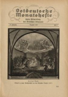 Ostdeutsche Monatshefte Nr. 9, Dezember 1937, 18 Jahrgang