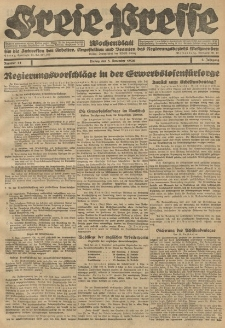 Freie Presse, Nr. 44 Freitag 5. November 1926 2. Jahrgang