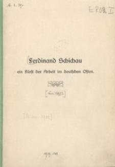 Ferdinand Schichau ein Fürst der Arbeit im deutschen Osten