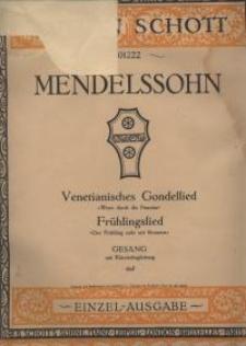 Venetianisches Gondellied : Wenn durch die Piazzetta