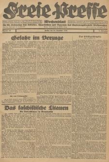 Freie Presse, Nr. 52 Freitag 31. Dezember 1926 2. Jahrgang