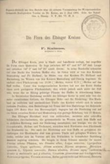 Die Flora des Elbinger Kreises