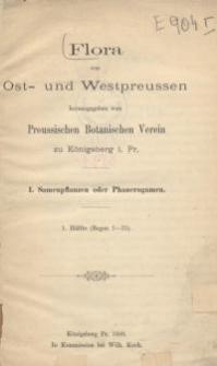 Flora von Ost- und Westpreussen