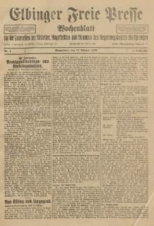 Freie Presse, Nr. 3 Sonnabend 17. Oktober 1925 1. Jahrgang