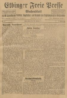 Freie Presse, Nr. 4 Sonnabend 24. Oktober 1925 1. Jahrgang