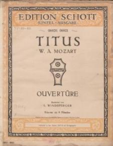 Titus : Ouvertüre