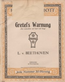 Gretel`s Warnung