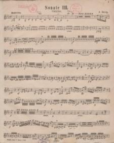 Sonate 3. Violino