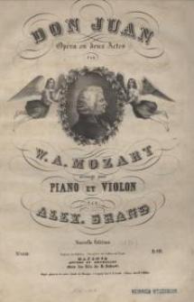 Don Juan : Opera en deux Actes