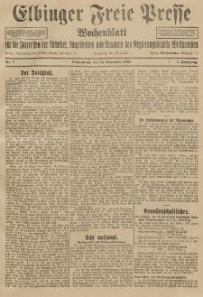 Freie Presse, Nr. 7 Sonnabend 14. November 1925 1. Jahrgang