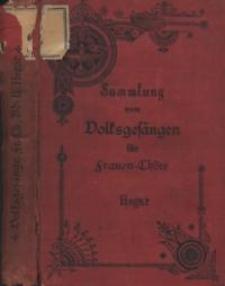 Sammlung von Volksgesängen für Frauen-Chöre. Bd. II