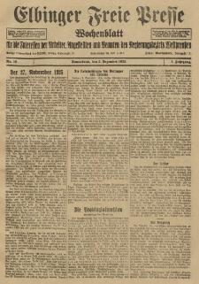 Freie Presse, Nr. 10 Sonnabend 5. Dezember 1925 1. Jahrgang