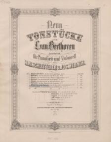 Neun Tonstücke. VII: Allegretto Quasi Andante (Aus den Bagatellen für Clavier). Op. 33 No 6.