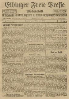 Freie Presse, Nr. 11 Sonnabend 12. Dezember 1925 1. Jahrgang