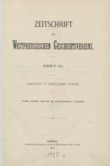 Zeitschrift des Westpreußischen Geschichtsvereins, 1913-1918, H. 55-58