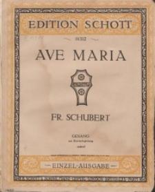 Ave Maria. Op. 52. Nr 6.