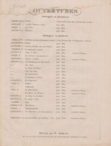 La Muette di Portici. Ouverture. Violino
