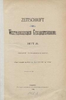 Zeitschrift des Westpreußischen Geschichtsvereins, 1919-1922, H. 59-62