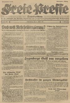 Freie Presse, Nr. 84 Donnerstag 11. April 1929 5. Jahrgang