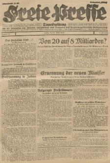 Freie Presse, Nr. 85 Freitag 12. April 1929 5. Jahrgang