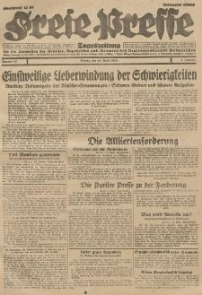 Freie Presse, Nr. 87 Montag 15. April 1929 5. Jahrgang