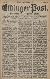 Elbinger Post, Nr. 12 Dienstag 15 Januar 1878, 5 Jahrg.