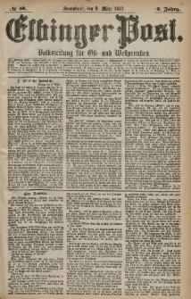 Elbinger Post, Nr. 58 Sonnabend 9 März 1878, 5 Jahrg.