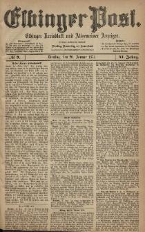 Elbinger Post, Nr. 9, Dienstag 20 Januar 1874, 41 Jh
