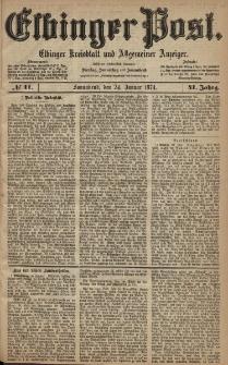 Elbinger Post, Nr. 11, Sonnabend 24 Januar 1874, 41 Jh
