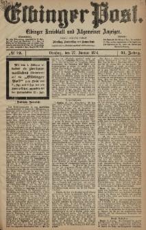 Elbinger Post, Nr. 12, Dienstag 27 Januar 1874, 41 Jh